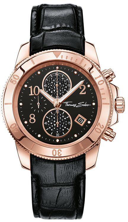 Thomas Sabo Watch Glam & Soul Ladies Chronograph WA0204-213-303-40