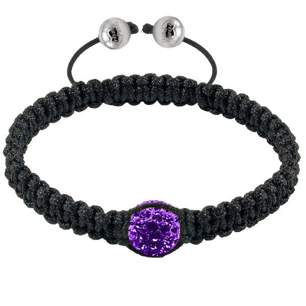 Tresor Paris Bracelet Purple Crystal S