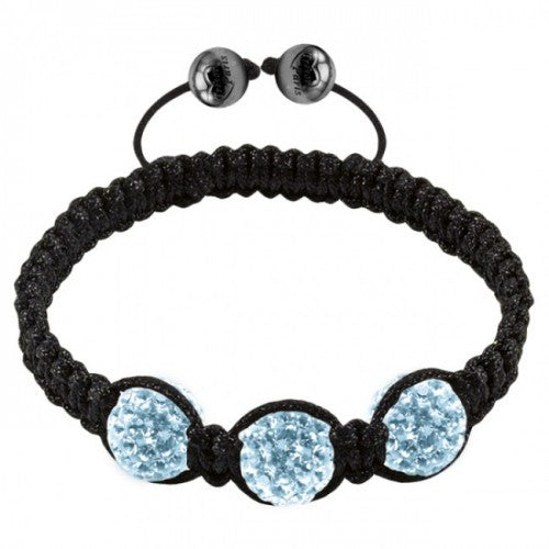Tresor Paris Bracelet 3 Light Blue Crystal S