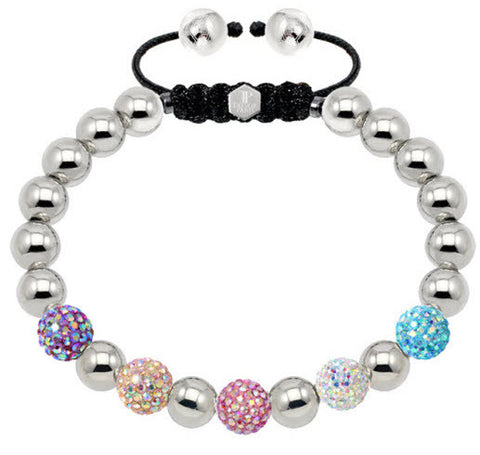 Tresor Paris Bracelet Spectrum Crystal Steel S