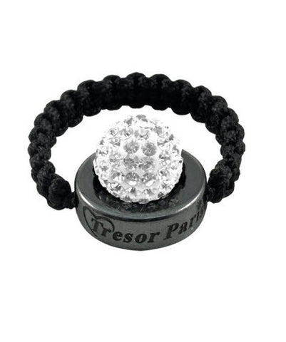 Tresor Paris Ring Cordelle Blank White Crystal S
