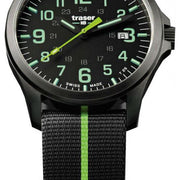 Traser H3 Watch Officer Pro Gun Metal Black Lime Nato