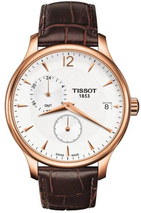 Tissot Watch Tradition GMT T0636393603700