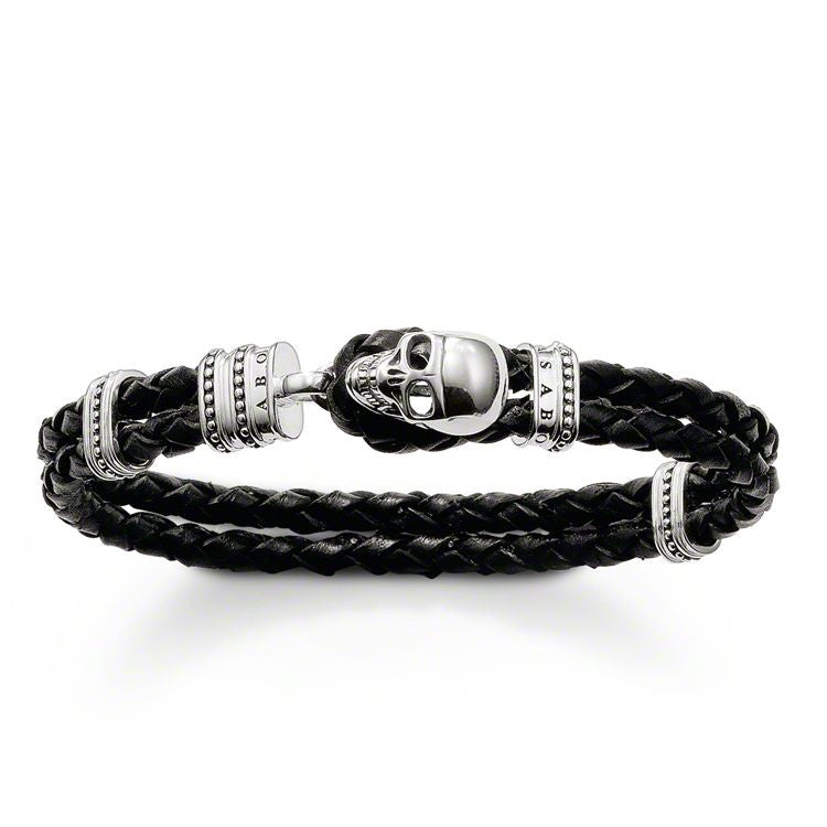 Thomas Sabo Bracelet Rebel At Heart Leather Large