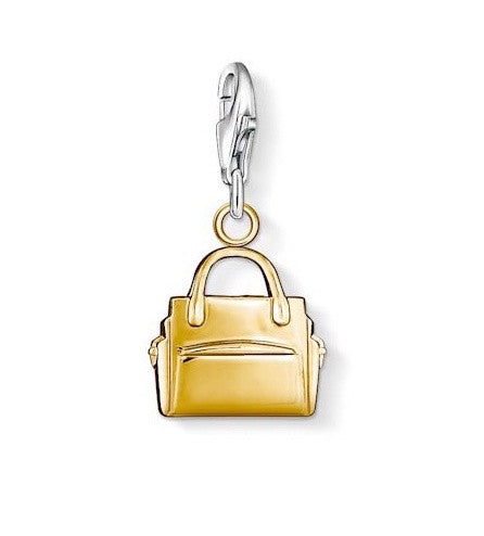 Thomas Sabo Charm Handbag Yellow Gold