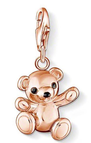 Thomas Sabo Charm Teddy Bear Rose Gold Plated