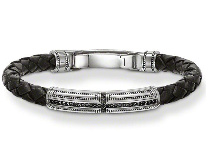 Thomas Sabo Bracelet Rebel At Heart Leather