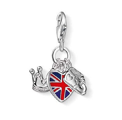 Thomas Sabo Charm Royal Baby UK Silver D