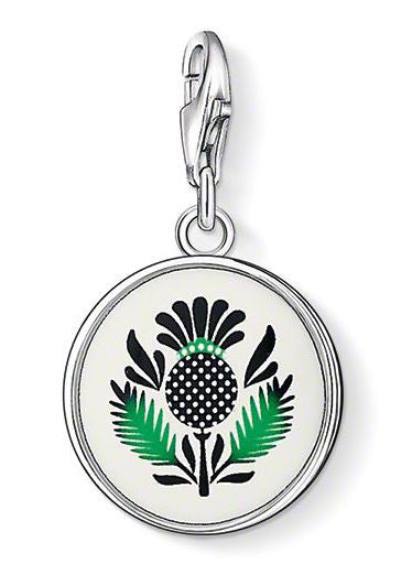 Thomas Sabo Charm Scottish Thistle Silver