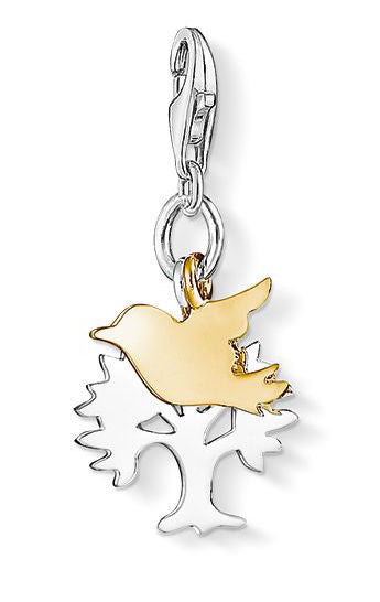Thomas Sabo Charm Bird Tree Silver