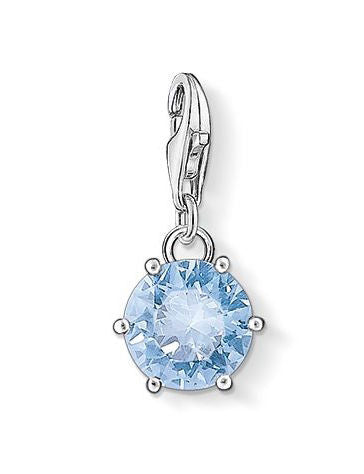 Thomas Sabo Charm Blue Spinel Silver
