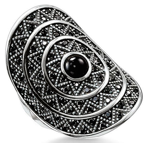 Thomas Sabo Ring Glam & Soul Zigzag Silver D
