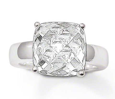 Thomas Sabo Ring Glam & Soul White Zirconia Silver D