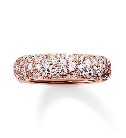 Thomas Sabo Ring Glam & Soul Eternity Rose Gold