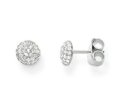 Thomas Sabo Earrings Glam & Soul Ear Studs Pave Silver