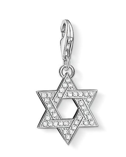 Thomas Sabo Charm Pendant Star of David Silver