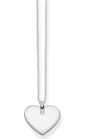 Thomas Sabo Necklace Glam & Soul Heart Silver 42cm