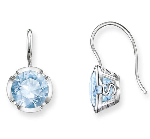 Thomas Sabo Earring Glam & Soul Light Blue Spinel Silver
