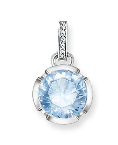 Thomas Sabo Pendant Glam & Soul Light Blue Spinel Silver