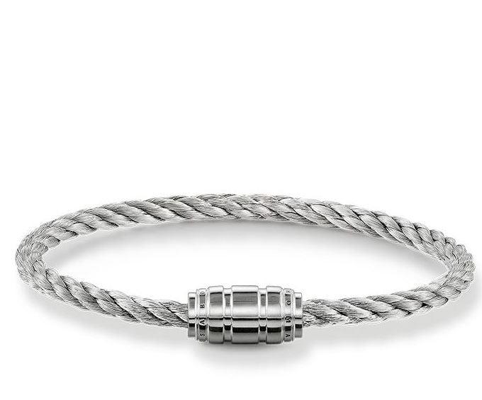 Thomas Sabo Bracelet Rebel At Heart Silver 19cm D