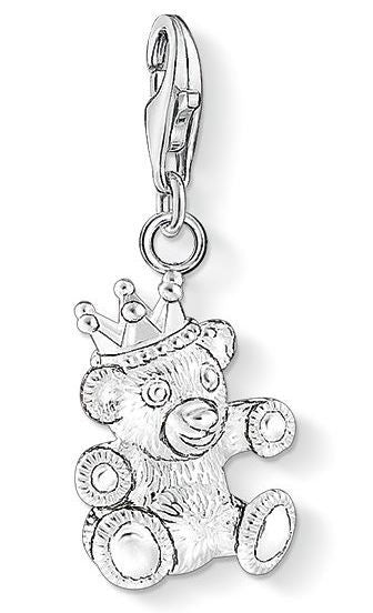 Thomas Sabo Charm Club Teddy Bear Silver