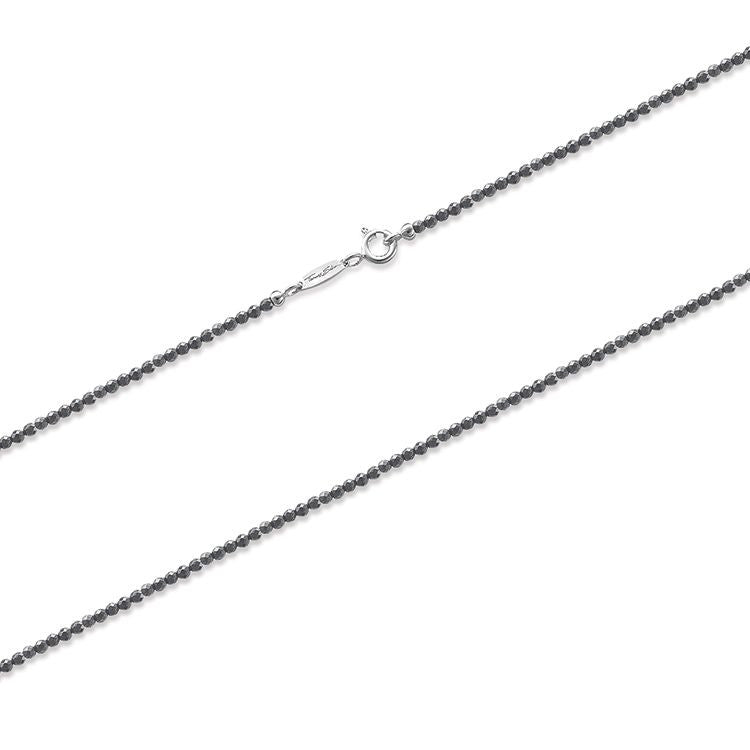 Thomas Sabo Necklace Glam & Soul Hematite Silver 90cm