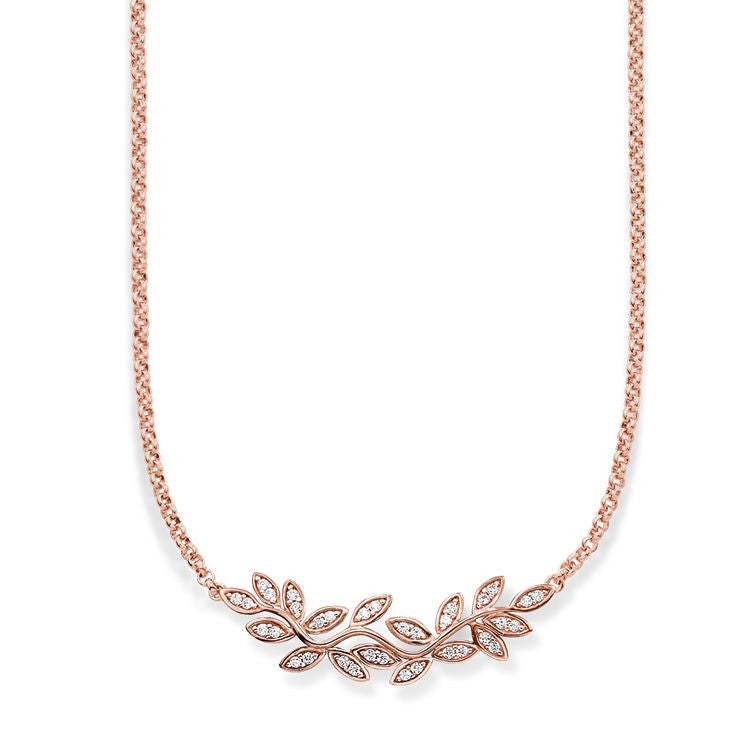 Thomas Sabo Necklace Glam & Soul Fairy Twines Rose Gold