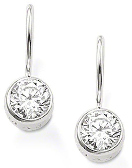 Thomas Sabo Earrings Glam & Soul White Zirconia Silver