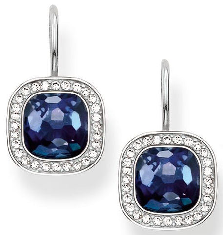 Thomas Sabo Glam And Soul Sapphire Corundum Earrings