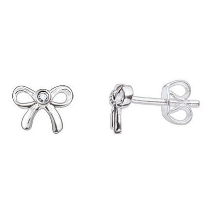 Thomas Sabo Earrings Sweet Diamonds Bow Studs Silver D