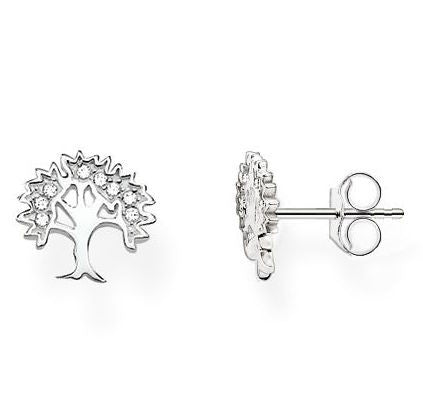 Thomas Sabo Earrings Glam & Soul Tree of Life Silver D