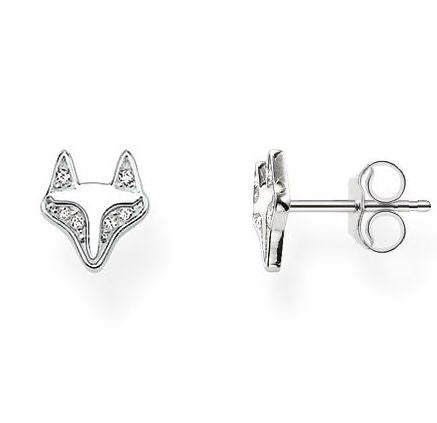 Thomas Sabo Earrings Glam & Soul Ear Studs Fox Silver