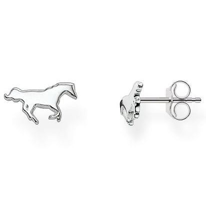Thomas Sabo Earrings Glam & Soul Ear Studs Horse Silver