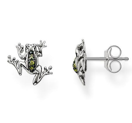 Thomas Sabo Earrings Glam & Soul Ear Studs Frog Silver D