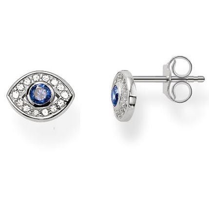 Thomas Sabo Earrings Glam & Soul Ear Studs Nazar Eye Silver