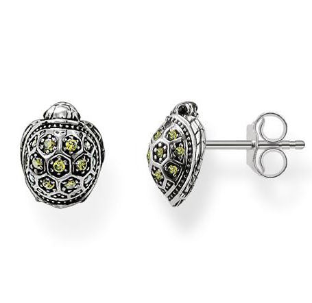 Thomas Sabo Earrings Glam & Soul Ear Studs Turtle Silver