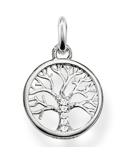 Thomas Sabo Pendant Glam & Soul Filigree Tree Silver