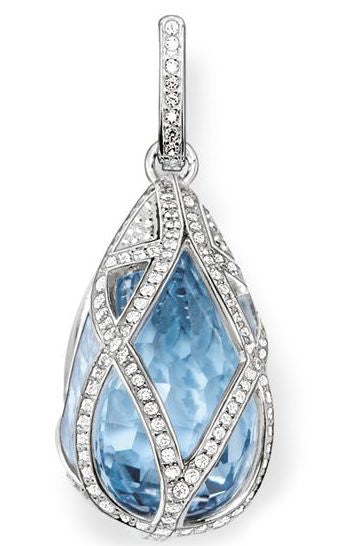 Thomas Sabo Pendant Glam & Soul Blue Synthetic Spinel Silver