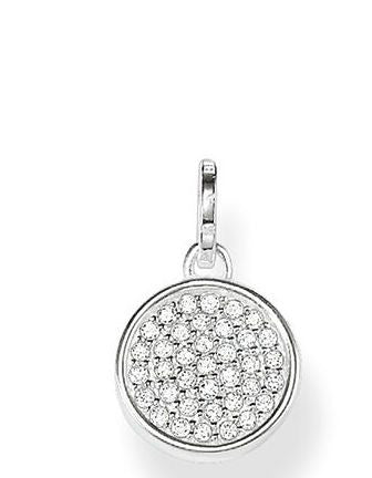 Thomas Sabo Pendant Glam & Soul Wheel of Karma Silver
