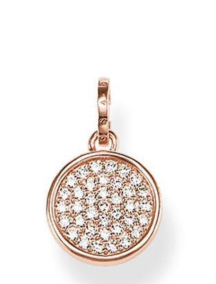 Thomas Sabo Pendant Glam & Soul Wheel of Karma Rose Gold
