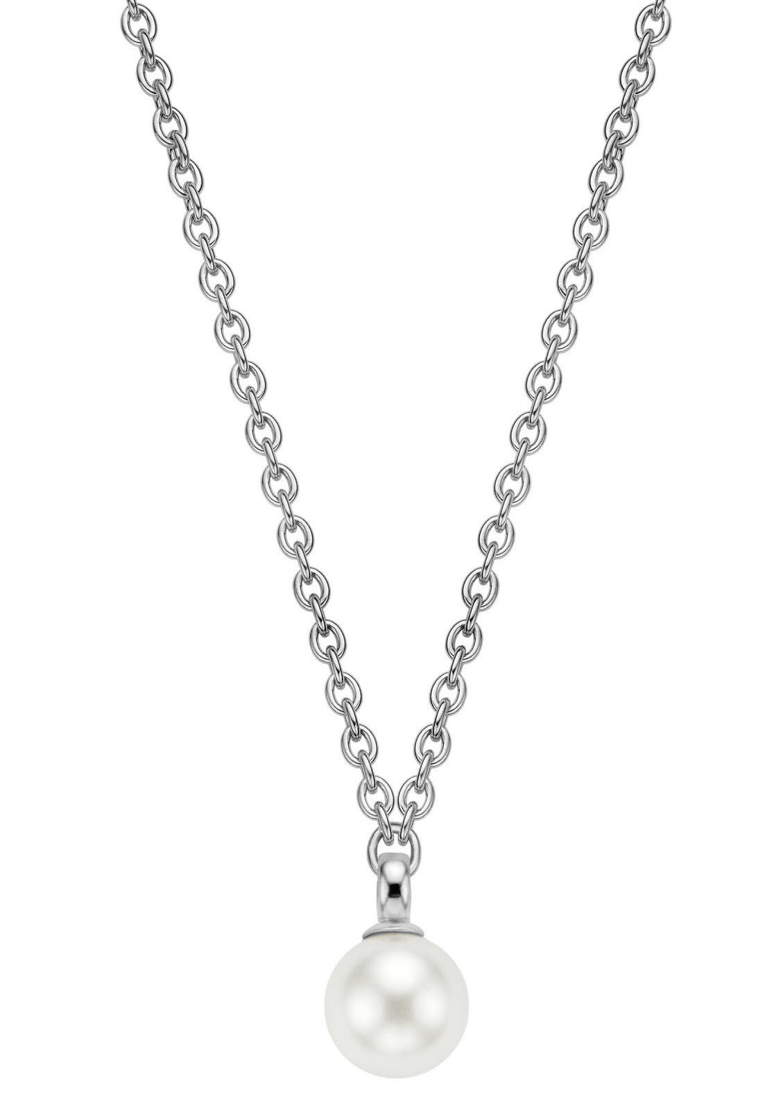 Ti Sento Necklace Silver