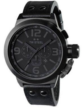 TW Steel Watch Cool Black 50mm TW821
