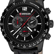 Wenger Watch Roadster Black Night Chrono PVD 10853108
