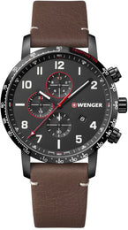 Wenger Watch Attitude Vertical Chrono 01.1543.107