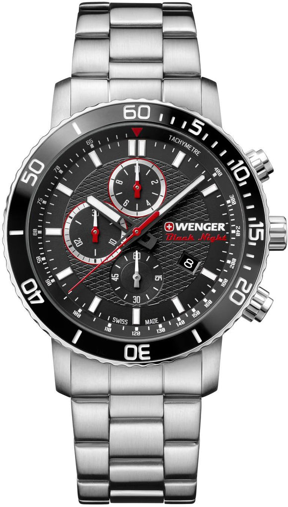 Wenger Watch Roadster Black Night Chrono 01.1843.106