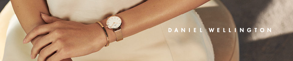 Daniel Wellington Watches banner