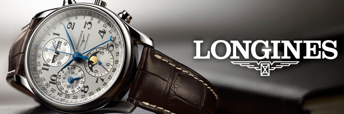 Longines Watches banner