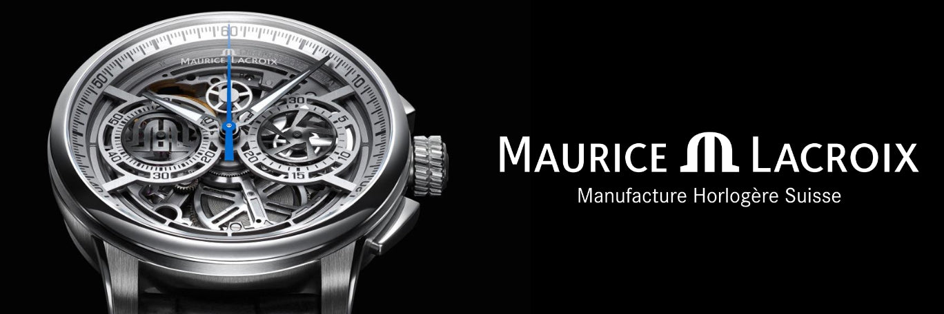Maurice Lacroix Watches banner