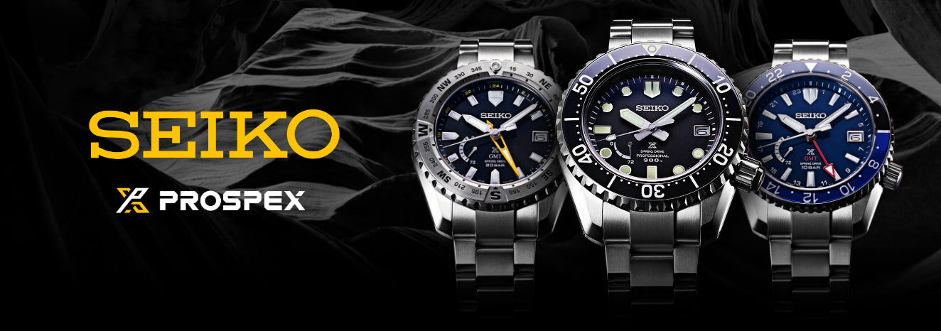 Seiko Prospex Watches banner