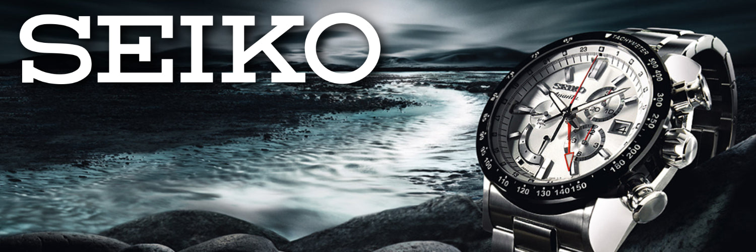 Seiko Watches banner